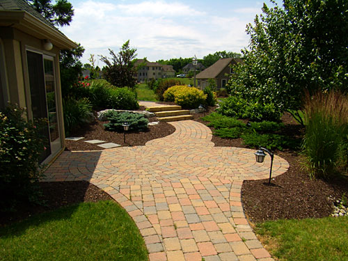 Entrance - Paver Walkway, entrance and steps