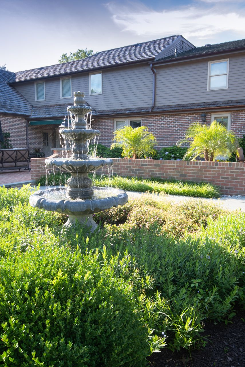 Features - Fountain in the landscape